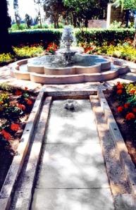 Ridvan Garden - meaning 'paradise' in Arabic.