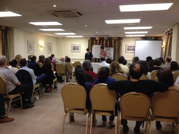Thames Valley Cluster Meeting October 2013