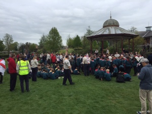 Scouts at Victoria Park