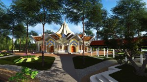 Cambodian House of Worship